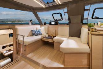 Bavaria Nautitech 40 Open catamaran 123 new salon