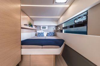 Bavaria Nautitech 40 Open catamaran 123 owner bed