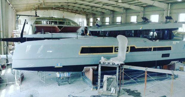 McConaghy 60 catamaran launch
