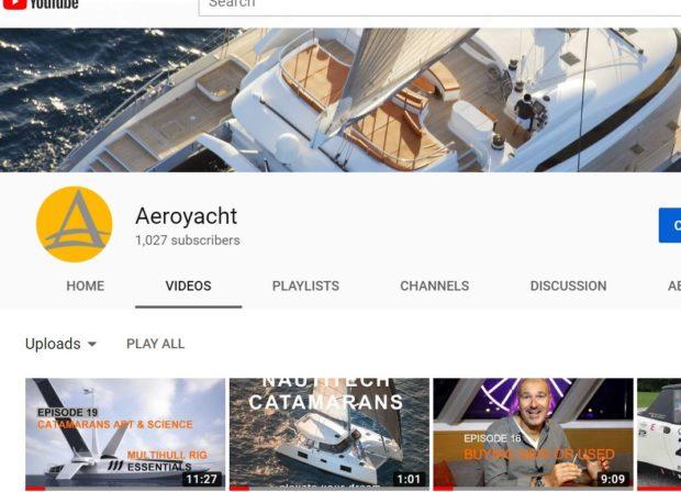 Aeroyacht Catamaran Channel YouTube