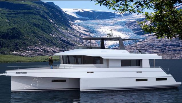 LEEN Trimaran new Trawler Multihull by NEEL - Aeroyacht Official US dealer