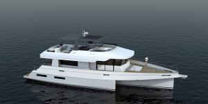 LEEN 72 Power Trimaran Layout - Aeroyacht Multihull Specialist Dealers