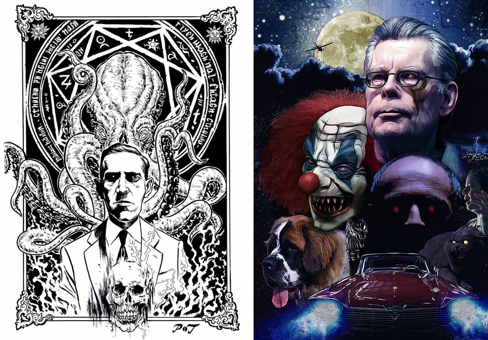 H. P. Lovecraft Stephen King