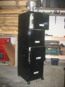 Actual cabinet smoker (source: http://www.smokingmeatforums.com/t/78039/filing-cabinet-smoker-finished-pics)