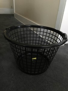 A Used Laundry Basket