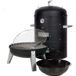 Vertical Smoker (source:http://bbq.about.com/od/smokerreviews/gr/Meco-Combination-Electric-Smoker-Grill-Model-5030.htm)