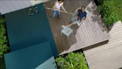 Figure 4: Commercial by BEHR Paint - http://www.ispot.tv/ad/7hl7/behr-premium-deckover-neighborhood