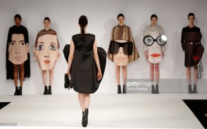 Designs by on day 2 of Graduate Fashion Week at The Old Truman Brewery on May 31, 2015 in London, England.