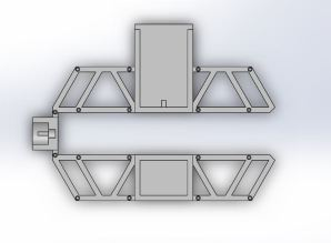 Frame bot top view
