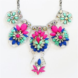 [1] Colorful Statement Jewelry