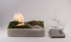 Mokki Marble Desktop Lamp.