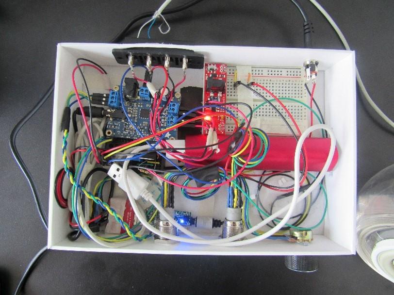 Figure 3: Final prototype set up