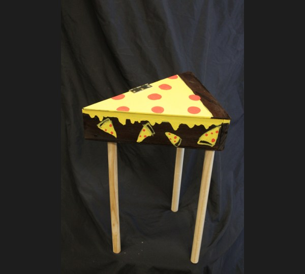 Pizza Bed Stand by Alexander Lien