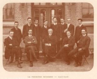 Album : 1908 1908 I Ière Moderne 1907-1908. Titulaire