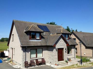 In roof solar thermal