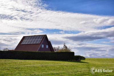 Solar PV installation in Forres