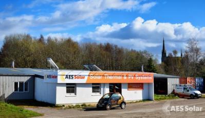 AES Solar Building