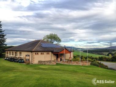 Golf Club Powered by solar