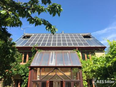 The first solar house in the UK