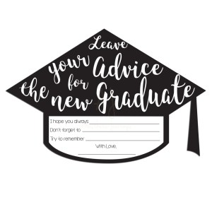 Graduation Advice Cards