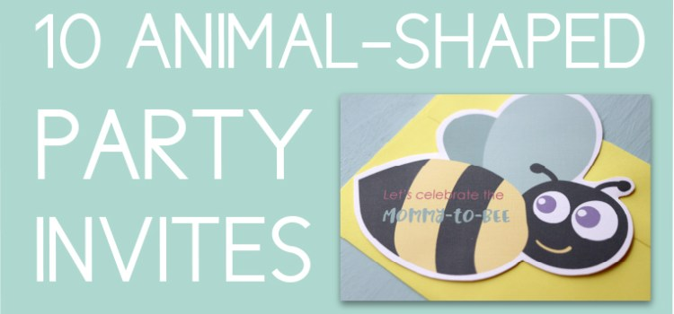 Animal Themed Party Invites