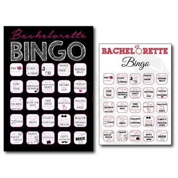 Graduation BINGO Party Game