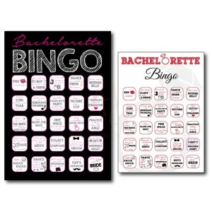 Graduation BINGO Party Game