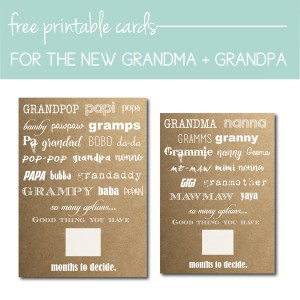 Download Free Baby Announcement Cards on the Journey Junkies Page