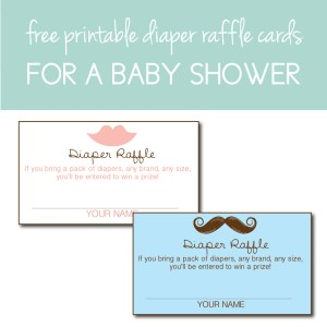 Download free Diaper Raffle Cards on the Journey Junkies Page