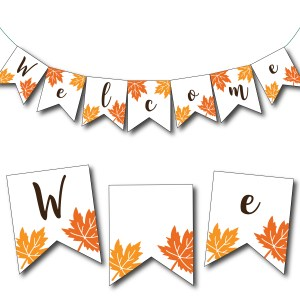 Welcome Banner for Fall