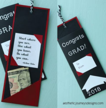 Grad Gift | Bookmark Money Holder