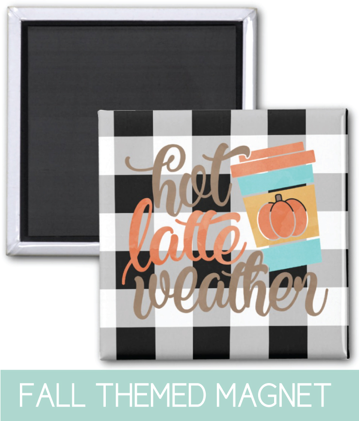 Kitchen Magnet Fall Decor