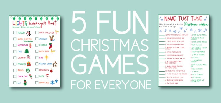5 Fun Christmas Games for Everyone