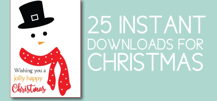 Christmas Instant Downloads