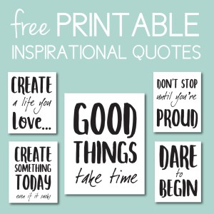 Download Free Inspirational Decor on the Journey Junkies Page