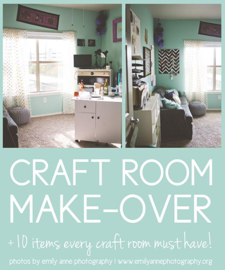 Craft Room Make Over