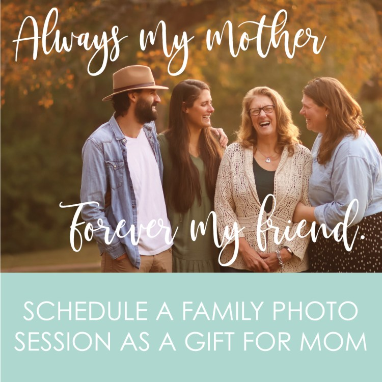 Photos make great gifts for Mother's Day, Mom's Birthday and more.