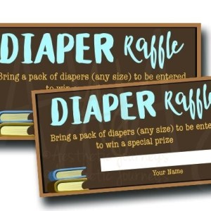 Book Diaper Raffle