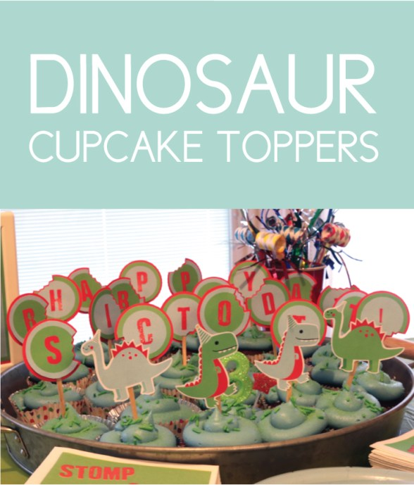Cupcake Toppers you can print at home