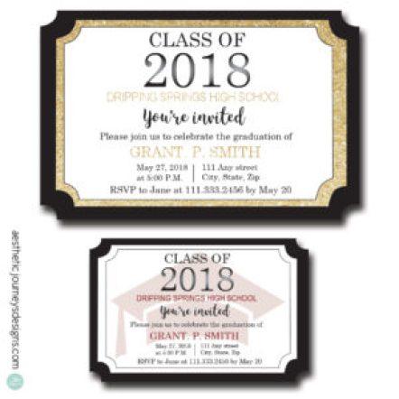 Diploma Graduation Invites