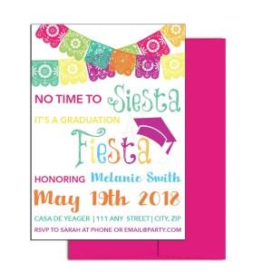 Graduation Fiesta Invite