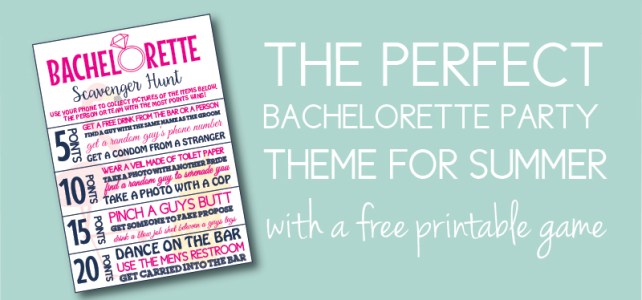 Last Flamingle Bachelorette Ideas with a Free Game You Must Have