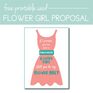 Download a Free Flower Girl Proposal Card on the Journey Junkies Page