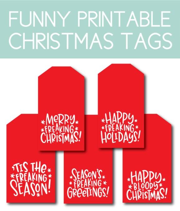 Funny Christmas Tags
