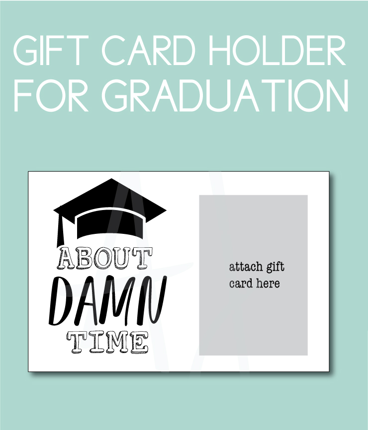 Gift Card Holder for the Graduate