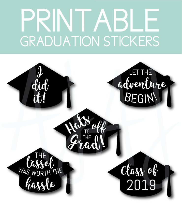 photo relating to Free Printable Graduation Party Games named 17 Commencement Bash Designs By yourself Can Down load and Print at Residence