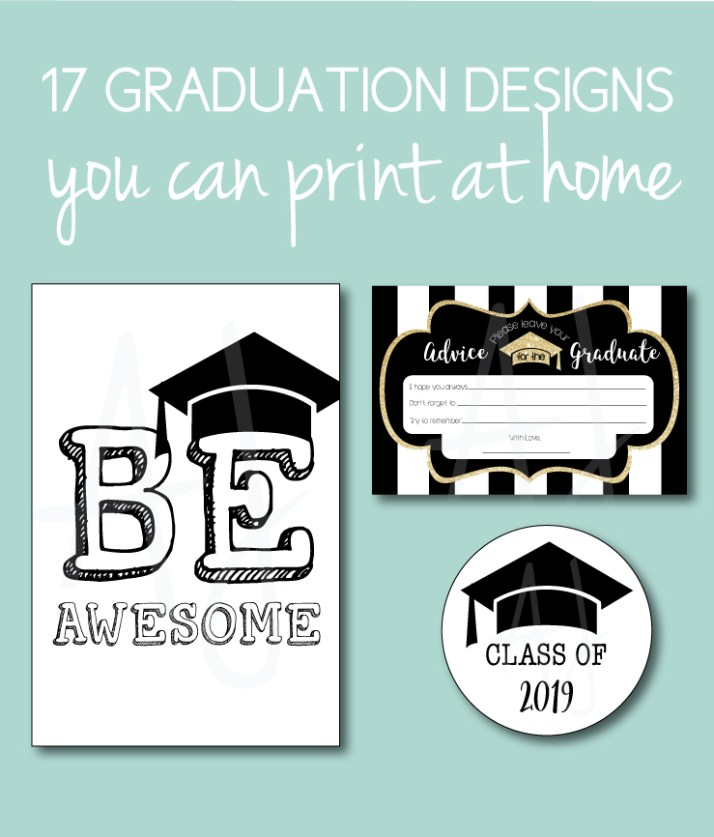 Graduation Party Ideas You Can Print at Home