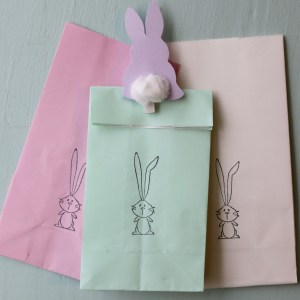 Colorful Bunny Bags