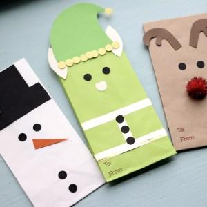 Christmas Character Gift Bags