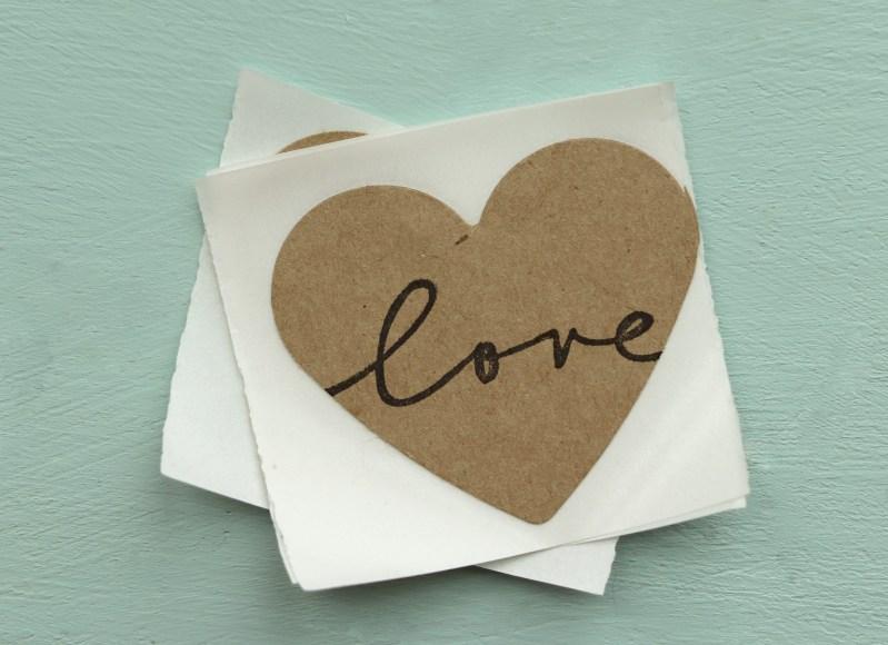 Cursive Love Stickers